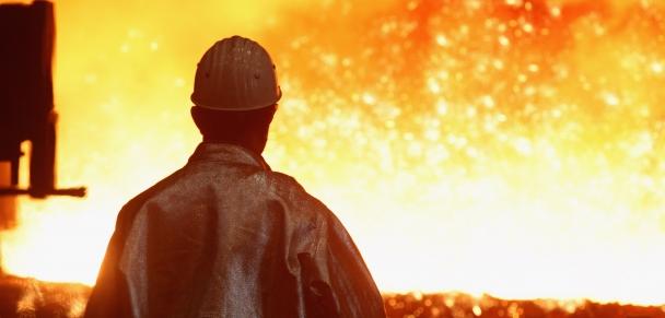La producción de acero sufrió importantes bajas durante el 2015